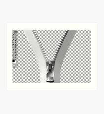° 。*PHOTOSHOP CARD  WITH ZIPPER EFFECT ღ˛° 。* s is best Art Print