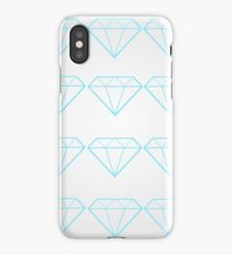 Diamonds are a Girl's Bestfriend iPhone Case