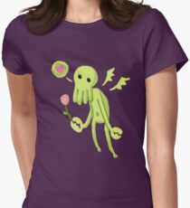 Cthulhu Loves You! Women's Fitted T-Shirt