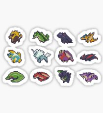 Monster Hunter Pixel Art Stickers Sticker