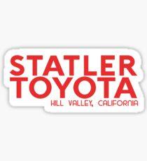 Distressed Statler Toyota Sticker