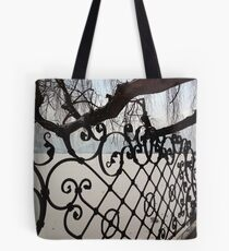 Decorative Ironwork Tote Bag
