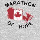 Marathon of Hope, 1980 v3 by dopefish