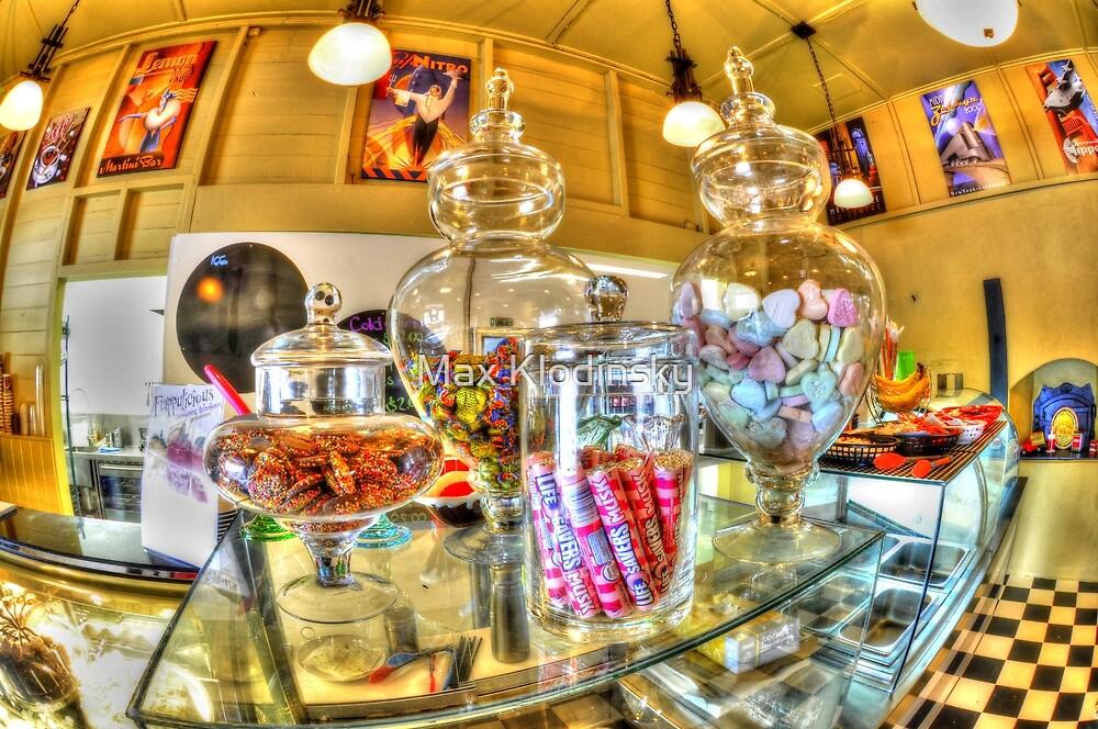 Lolly jars, yum by Max Klodinsky