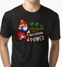 Mushroom Power Tri-blend T-Shirt