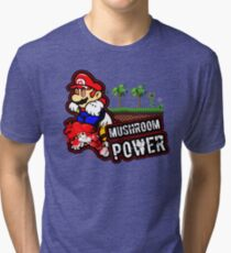 Mushroom Power Tri-blend T-Shirt