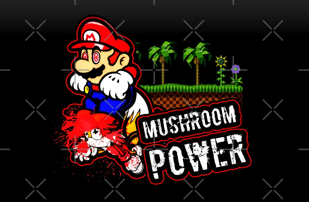 Mushroom Power (Print Version) by Rodrigo Marckezini