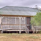 The Cottage, Blackall, Queensland by Adrian Paul