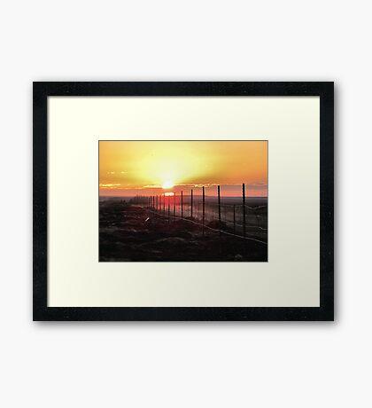 Good Morning Sunshine- dedicated to myself Framed Print