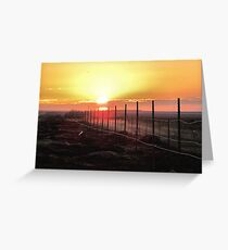 Good Morning Sunshine- dedicated to myself Greeting Card