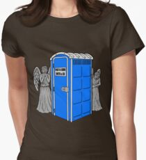 The Angels Have the Wrong Box! Women's Fitted T-Shirt