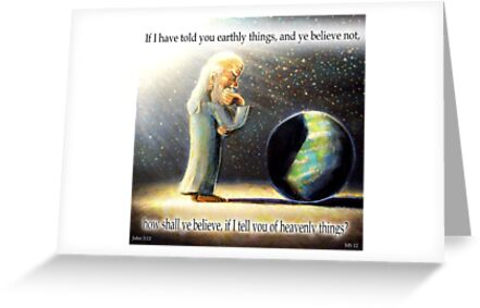 The Atheist : If I have told you earthly things.... by Calgacus