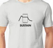 ADSR - Sustain (Black) Unisex T-Shirt