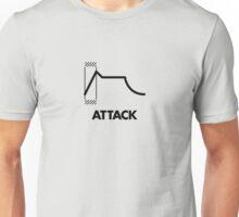 ADSR - Attack (Black) Unisex T-Shirt