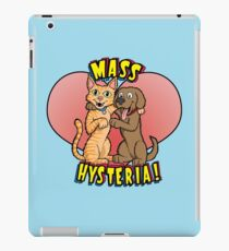 Dogs and Cats Living Together... iPad Case/Skin