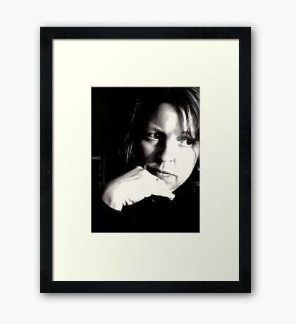 Inattentive Framed Print