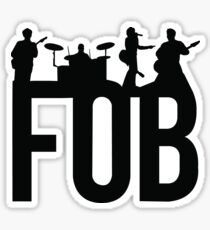 Fall Out Boy Silhouettes Sticker