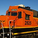 Big Orange Engine by Scott Hendricks