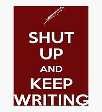 Keep Writing #2 Photographic Print