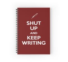 Keep Writing #2 Spiral Notebook