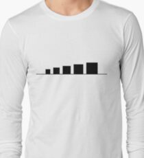 99 Steps of Progress - Minimalism Long Sleeve T-Shirt