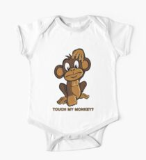 Touch My Monkey One Piece - Short Sleeve