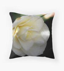 Camellia  Japonica Throw Pillow