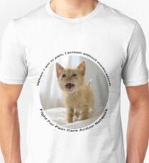 Kitten protest tee 1 Unisex T-Shirt