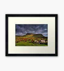 Benbulben Mountain Framed Print