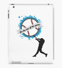For the Love of the Game - Baseball - Clothing & Cases iPad Case/Skin