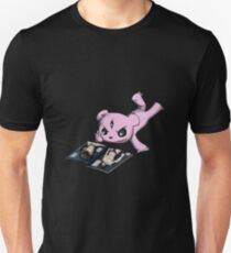 Cheeky Teddy with Magazine Unisex T-Shirt