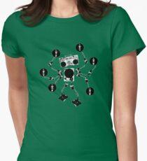 Agent Traxxident Logo Womens Fitted T-Shirt