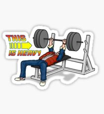 This is HEAVY!!! Sticker