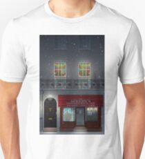 Sherlock Speedy's Cafe christmas Unisex T-Shirt