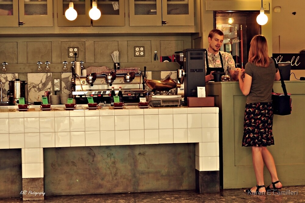 serious about coffee by Karen E Camilleri