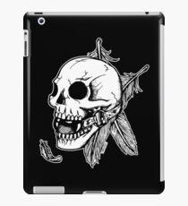Skull Ball Gag Feathers iPad Case/Skin