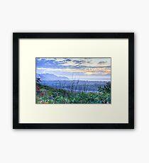 Misty Arakwal Dawn - Byron Bay Framed Print