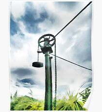 The Gas Container Pulley Poster