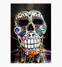 Haunted Skull Photographic Print
