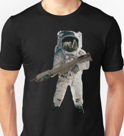 Astro the fun naut: WITH A LAZAR GUN!!!! T-Shirt