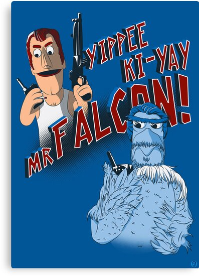 Yippee Ki-Yay, Mr Falcon! by Paul Robinson