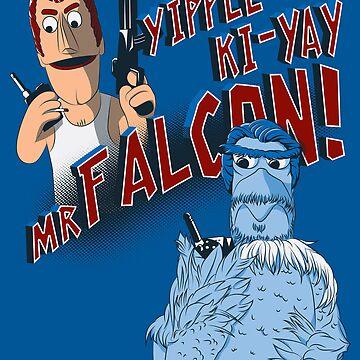 Yippee Ki-Yay, Mr Falcon! by robo3687