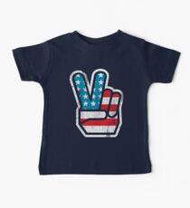 American Peace Baby Tee