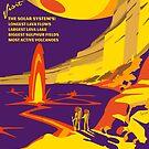 Io Planetary Park Poster by Planetary Society