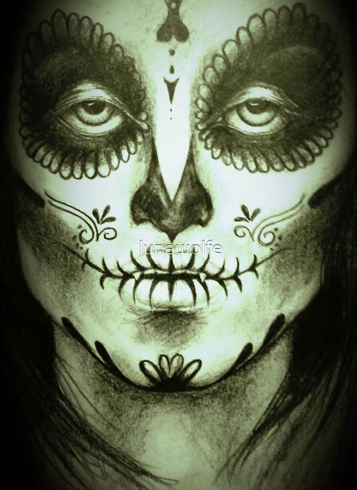 Day of the Dead by lunawolfe
