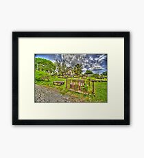 Church-yard Bells Framed Print