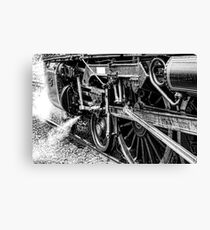 The power of Steam Canvas Print