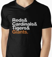 San Francisco Giants 2012 Opponents (Tigers) T-Shirt