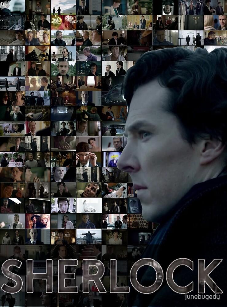 Sherlock BBC Screens by junebugedy