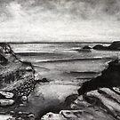 """""""Diamond Bay"""" -  Flinders, Victoria by Belinda """"BillyLee"""" NYE (Printmaker)"""